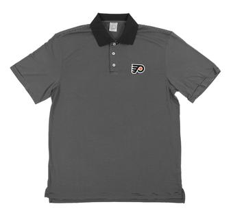 Philadelphia Flyers Level Wear Dunhill Black Performance Polo (Adult Large)