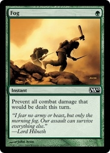 Magic the Gathering 2010 Single Fog Foil