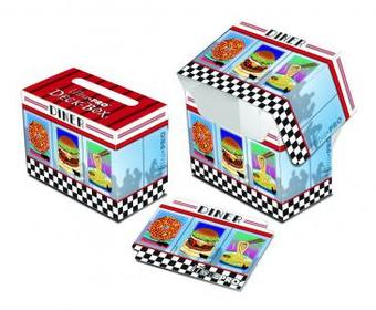 Ultra Pro Foodie Diner Full View Side Load Deck Box (Case of 60) - Regular Price $179.40 !!!
