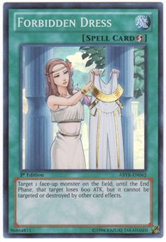 Yu-Gi-Oh Abyss Rising Single Forbidden Dress Super Rare