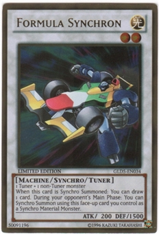 Yu-Gi-Oh Gold Series 5 Single Formula Synchron Gold Rare