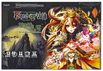 Force of Will The Castle of Heavens and Booster Box
