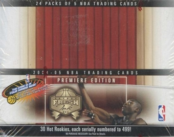 2004/05 Fleer Fresh Ink Basketball 24 Pack Box