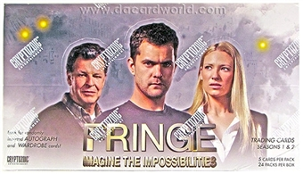 Fringe Seasons 1 & 2 Trading Cards Box (Cryptozoic 2012)