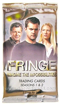 Fringe Seasons 1 & 2 Trading Cards Pack (Cryptozoic 2012)