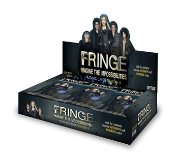 Fringe Season 5 Trading Cards 12-Box Case (Cryptozoic 2014)