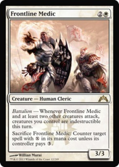 Magic the Gathering Gatecrash Single Frontline Medic UNPLAYED (NM/MT)