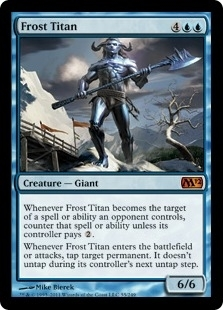 Magic the Gathering 2012 Single Frost Titan - NEAR MINT (NM)