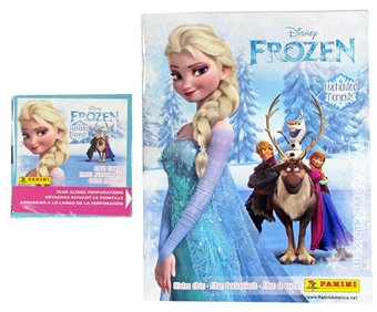 Disney Frozen Enchanted Moments Sticker Box PLUS 1 Album! (Panini 2015)