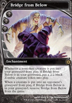 Magic the Gathering Future Sight Single Bridge from Below - SLIGHT PLAY (SP)