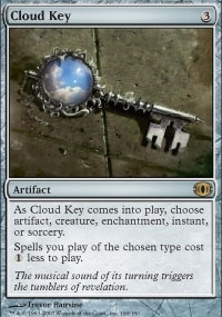 Magic the Gathering Future Sight Single Cloud Key Foil