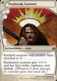 Magic the Gathering Future Sight Single Daybreak Coronet UNPLAYED (NM/MT)