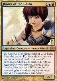 Magic the Gathering Future Sight Single Jhoira of the Ghitu UNPLAYED (NM/MT)