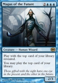 Magic the Gathering Future Sight Single Magus of the Future Foil