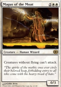 Magic the Gathering Future Sight Single Magus of the Moat Foil