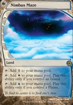 Magic the Gathering Future Sight Single Nimbus Maze - SLIGHT PLAY (SP)