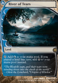Magic the Gathering Future Sight Single River of Tears - SLIGHT PLAY (SP)