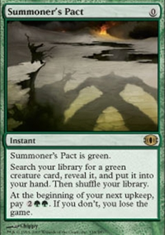 Magic the Gathering Future Sight Single Summoner's Pact - NEAR MINT (NM)