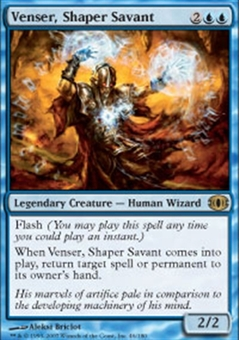 Magic the Gathering Future Sight Single Venser, Shaper Savant - SLIGHT PLAY (SP)