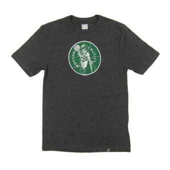 Boston Celtics Majestic Gray Hours and Hours Dual Blend Tee Shirt (Adult L)