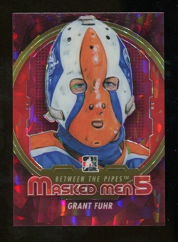 2012/13 In the Game Between The Pipes Masked Men V Rainbow #MM11 Grant Fuhr