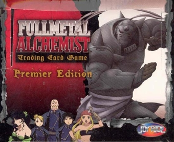 Press Pass Fullmetal Alchemist Premier Edition Booster Box