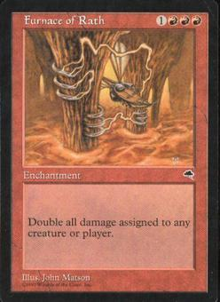 Magic the Gathering Tempest Single Furnace of Rath - NEAR MINT (NM)