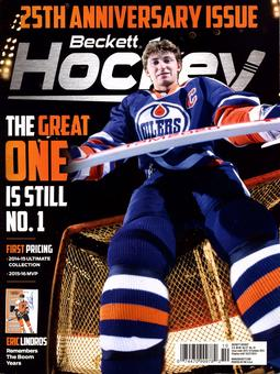 2015 Beckett Hockey Monthly Price Guide (#278 October) (The Great One)