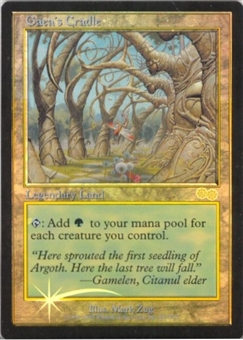 Magic the Gathering Promo Single Gaea's Cradle FOIL (DCI Judge)