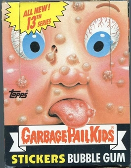 Garbage Pail Kids Series 13 Wax Box (1985-88 Topps)