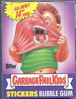 Garbage Pail Kids Series 14 Wax Box (1985-88 Topps)