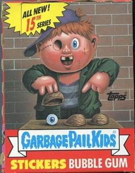 Garbage Pail Kids Series 15 Wax Box (1985-88 Topps)