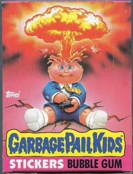 Garbage Pail Kids Series 1 Wax Box (1985-88 Topps)