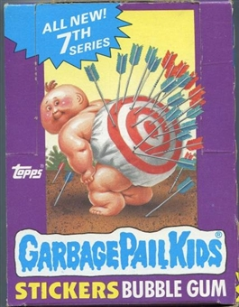 Garbage Pail Kids Series 7 Wax Box (1985-88 Topps)
