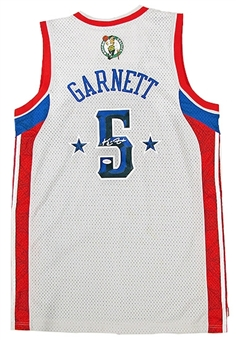 Kevin Garnett Autographed Boston Celtics All Star Jersey (JSA COA)