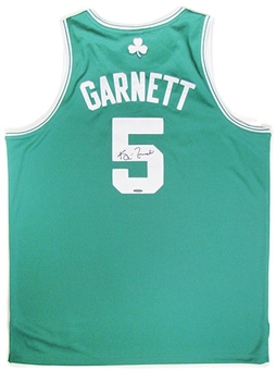 Kevin Garnett Autographed Boston Celtics Green Authentic Basketball Jersey
