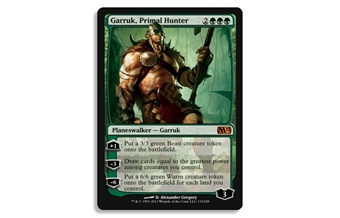 Magic the Gathering 2012 Single Garruk, Primal Hunter UNPLAYED (NM/MT)