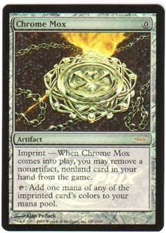 Magic the Gathering Grand Prix GP Promo Single Chrome Mox Foil - NEAR MINT (NM)