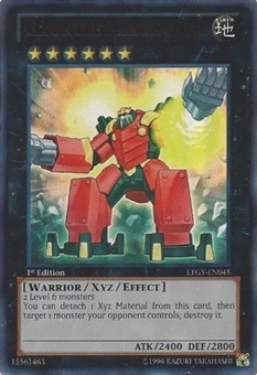 Yu-Gi-Oh Lord Tachyon Galaxy Single Gauntlet Launcher Ultimate Rare