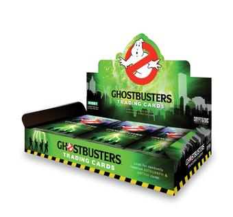 Ghostbusters Trading Cards 12-Box Case (Cryptozoic 2015) (Presell)