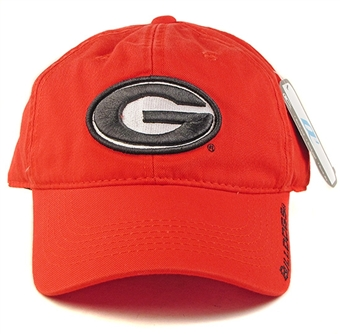 Georgia Bulldogs Outdoor Cap Adjustable Slouch Hat (One Size Fits Most)