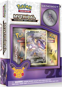 Pokemon: Mythical Collection Box (Genesect) (Presell)