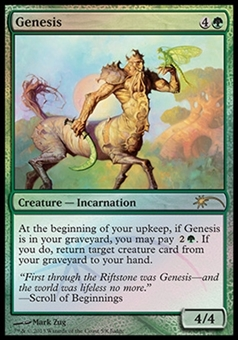 Magic the Gathering Promotional Single Genesis Foil (Judge)