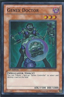Yu-Gi-Oh Hidden Arsenal 2 Single Genex Doctor 3x Super Rare