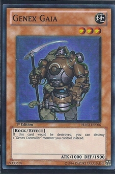 Yu-Gi-Oh Hidden Arsenal 2 Single Genex Gaia 3x Super Rare