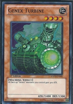 Yu-Gi-Oh Hidden Arsenal 2 Single Genex Turbine 3x Super Rare