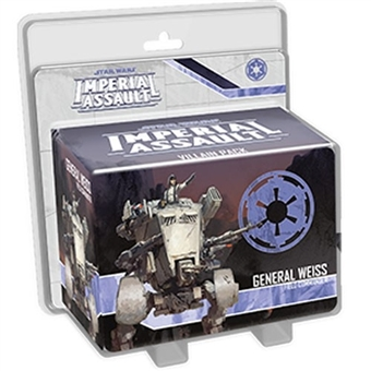 Star Wars Imperial Assault: General Weiss Villain Pack