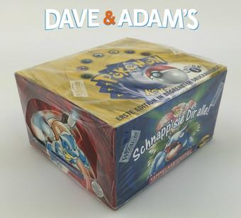 Pokemon Base Set 1 German 1st Edition Booster Box