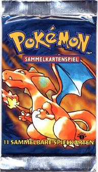 Pokemon Base Set 1 1st Edition Booster Pack - GERMAN