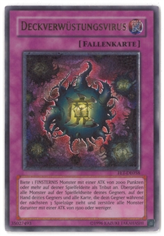Yu-Gi-Oh Flaming Eternity GERMAN Single Crush Card Virus Ultimate Rare - SLIGHT PLAY (SP